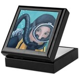 Double Hose Diver Keepsake Box