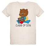 Class of 2016 Teddy Bear Organic Kids T-Shirt
