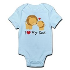 I Heart My Dad Infant Bodysuit