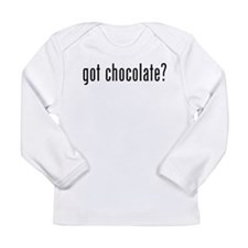 Got Chocolate? Long Sleeve Infant T-Shirt