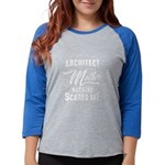 Man Of Science, Not Snuggle B Women's Cap Sleeve T