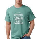 Man Of Science, Not Snuggle B Green T-Shirt