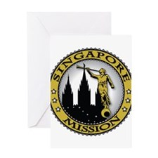 Singapore LDS Mission Classic Greeting Card