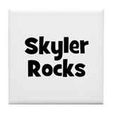 Skyler Rocks Tile Coaster