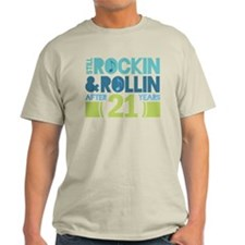 21st Anniversary Rock N Roll T-Shirt