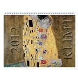 Gustav Klimt Wall Calendar
