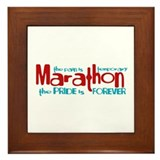 Marathon- The Pride is Forever Framed Tile
