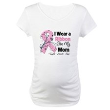 Mom Ribbon Breast Cancer Shirt