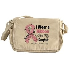 Daughter Breast Cancer Messenger Bag