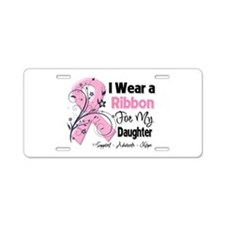 Daughter Breast Cancer Aluminum License Plate
