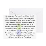 Story Art Greeting Cards (Pk of 10)