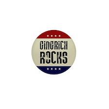 Newt Gingrich Rocks Mini Button (100 pack)