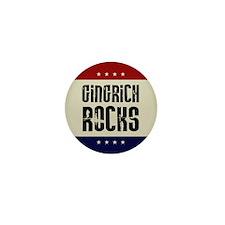 Newt Gingrich Rocks Mini Button