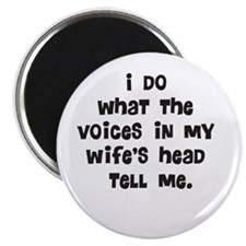 Wife's Head Magnet