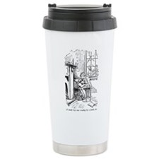 Lonely Boy Ceramic Travel Mug