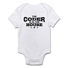 Funny Coder Infant Bodysuit