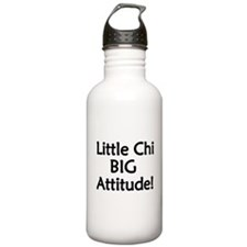 Little Chi, Big Attitude Water Bottle