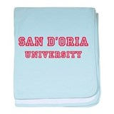San D'Oria baby blanket