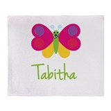 Tabitha The Butterfly Throw Blanket