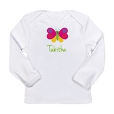 Tabitha The Butterfly Long Sleeve Infant T-Shirt
