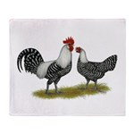Brakel Chickens Throw Blanket