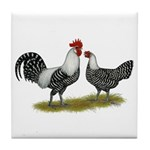 Brakel Chickens Tile Coaster