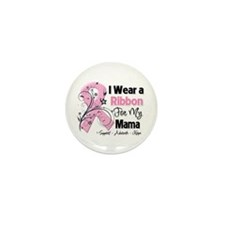 Mama Breast Cancer Mini Button (100 pack)