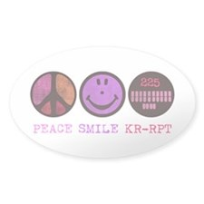 Peace Smile 225 Decal