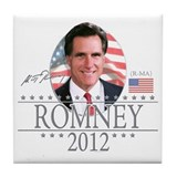 Team Mitt Romney Tile Coaster