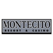 Montecito Casino & Resort | Bumper Bumper Sticker