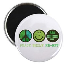 "Peace Smile 225 2.25"" Magnet (10 pack)"