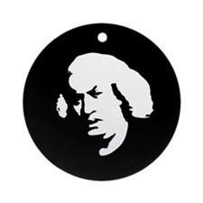 """Samuel Johnson"" Ornament (Round)"