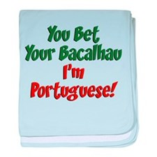 Bet Your Bacalhau baby blanket