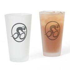 Ionraic BIKE Drinking Glass