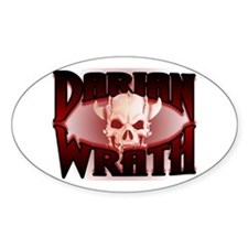 Darian Wrath Oval Decal