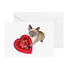 Kitten Valentine Greeting Card