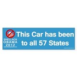 Shellack Obama Bumper Sticker