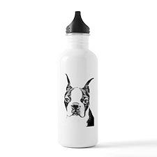 BOSTON TERRIER - DOG Water Bottle