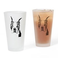 BOSTON TERRIER - DOG Drinking Glass