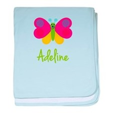 Adeline The Butterfly baby blanket