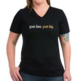 great dane. great dog. Shirt
