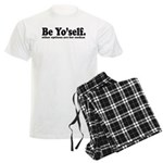 Be yourself Men's Light Pajamas