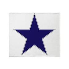 Star / American Flag Throw Blanket