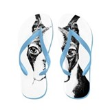 BOSTON TERRIER - DOG Flip Flops