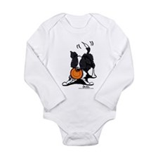 Border Collie Long Sleeve Infant Bodysuit