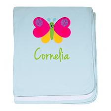 Cornelia The Butterfly baby blanket
