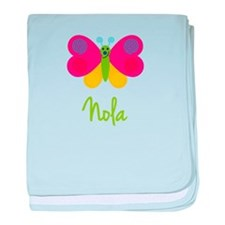 Nola The Butterfly baby blanket