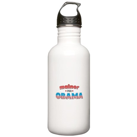 Mainer For Obama Stainless Water Bottle 1.0L