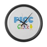 More PICC Line Nurse Large Wall Clock