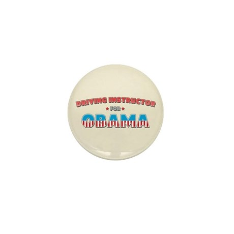 Driving Instructor For Obama Mini Button (10 pack)